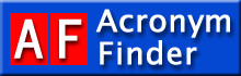 Click here for Acronym Finder main page